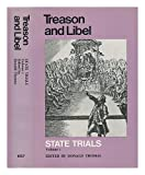 Treason and Libel, Donald Thomas, 0710073259