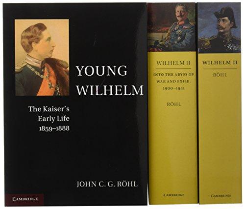 Wilhelm II 3 Volume Paperback Set por John C. G. Röhl
