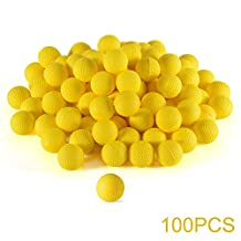 XCSOURCE 100pcs Rounds Refill Compatible Replace Bullet Balls Pack for Nerf Rival Apollo Zeus Children Kids Toy Gun TH589