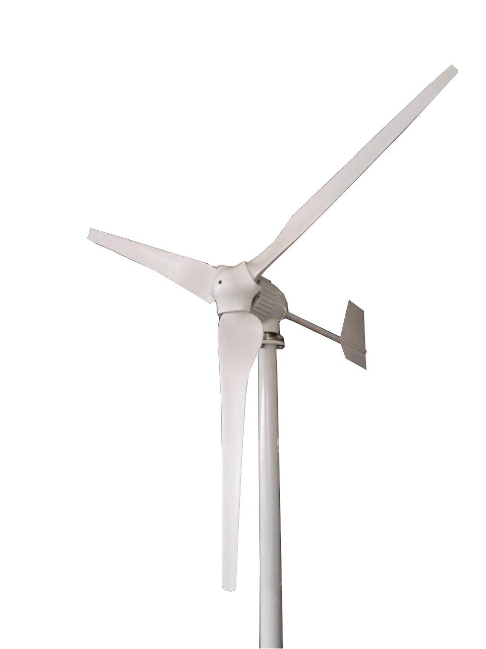 Tumo-Int 1000 Watt 3 Blätter Windkraftanlage mit MPPT Kontroller (48V)