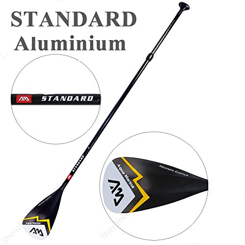 Alloy SUP Paddle - 3-Piece Adjustable Stand Up Paddle with Paddle Bag. Super Paddles - Alloy Series Elite - Aluminum Shaft, Nylon Blade by Foammaker