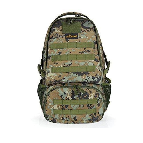 YAAGLE Military Combat Tactical 30L Outdoor Sports Explorer Climbing Backpack