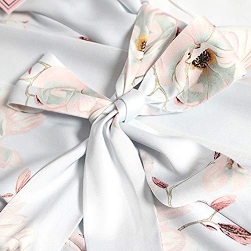 Vestito Erotica Sottile Lightblue Cardigan Seta Sezione m Breve Set Stampa Biancheria Lingerie lightpink Inima Ghiaccio Paragrafo Home Manica 45xIzq6UWw