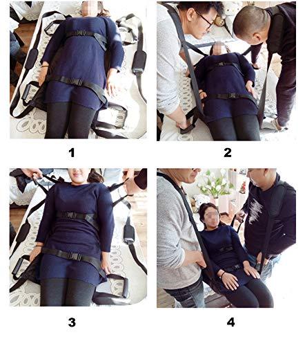 Padded Patient Lift Transferring Belt Board Emergency Evacuation Chair Wheelchair Full Body Medical Lifting Sliding Sling Transfer Belt for Seniors,Handicapped,Elderly,Bedridden (Board Padded Inside)