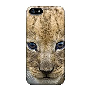 Premium SpfgR7956HfRxc Case With Scratch-resistant/ Young Lion Cub Masai Mara Kenya Africa Case Cover For Iphone 5/5s