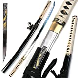 Ace Martial Arts Supply Handmade Zetsurin Sharp Samurai Katana Sword - MUSHA
