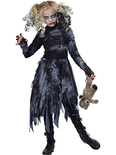California Costumes Zombie Girl Child Costume