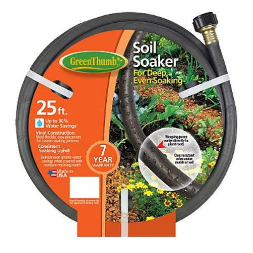 TEKNOR-APEX COMPANY 1030-25 Thumb Soaker Hose, 25-Feet, Green