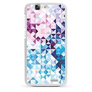 Huawei Ascend G510Funda Silicona Case Protección cover Pastel patrón cristales