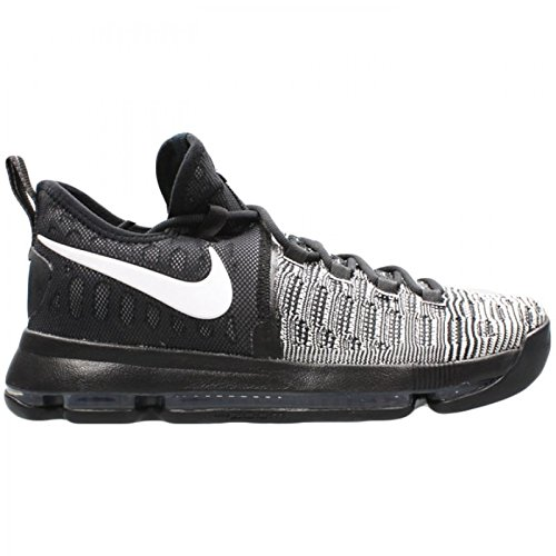 new concept 28f07 f4e0f ... best price amazon nike mens zoom kd 9 black white basketball shoe 10.5  men us basketball