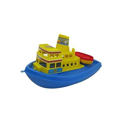Polesie PW36964 - Barco Gaviota, colores aleatorios , Modelos/colores Surtidos, 1 Unidad: Juguetes y juegos