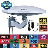 Best Outdoor TV Antennas - Outdoor TV Antenna -Antop Omni-directional 360 Degree Reception Review