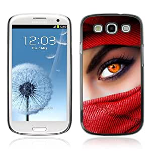 Designer Depo Hard Protection Case for Samsung Galaxy S3 / Beautiful Eyes