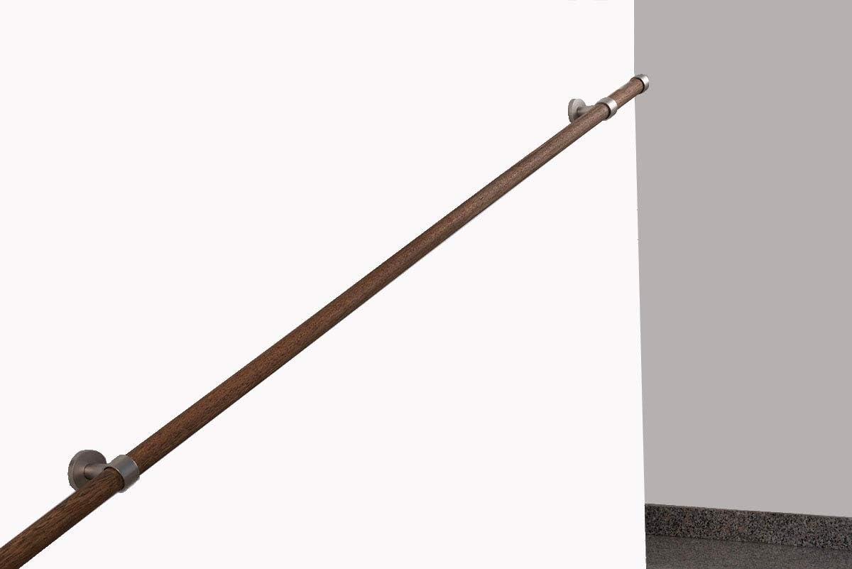 Complet 120 cm en Bois d/ébit de 80 kg L InCasa Main Courante: diam/étre 28 mm