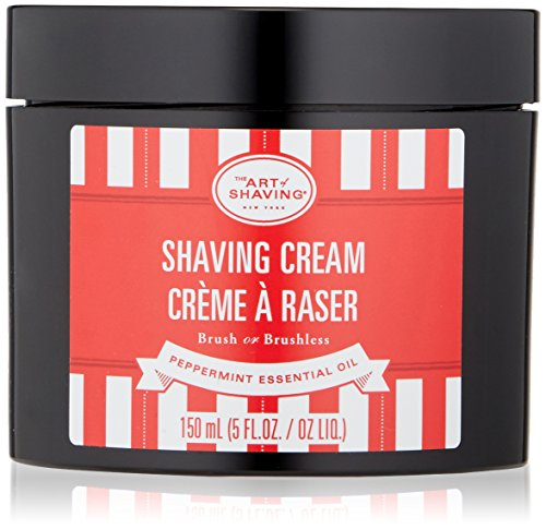 The Art of Shaving PEPPERMINT SHAVING CREAM 5 OZ