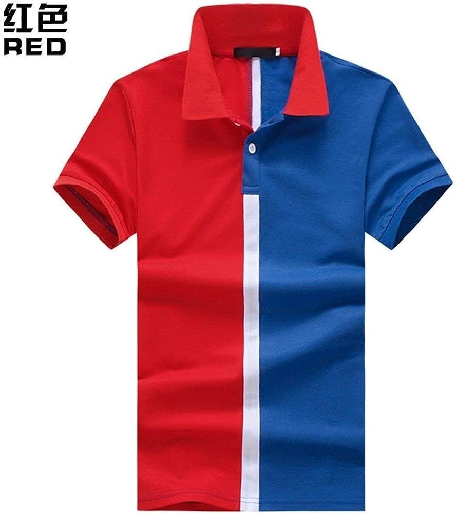 Camisas De Polo Hombres Casual Diario Retro Salir De Bloque De ...