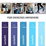 Letsfit Resistance Loop Exercise Bands with