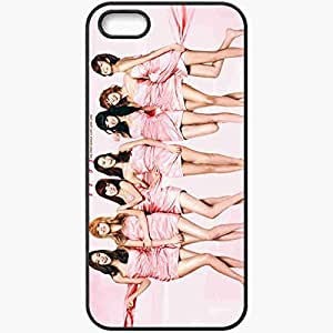 Personalized iPhone 5 5S Cell phone Case/Cover Skin After School Black by lolosakes