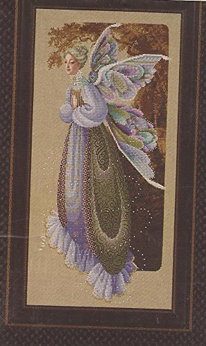 Stitch Lace Cross - Fairy Grandmother - Lavender & Lace Victorian Designs Counted Cross Stitch Chart
