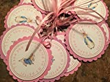 New.. Peter Rabbit FAVOR TAGS with Ribbon Classic Edition Set of 12