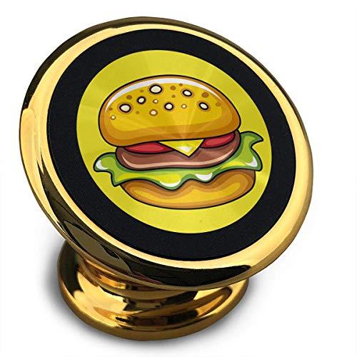 Universal Magnetic Phone Car Mounts Magnet Holder Sausage Hamburger Magnetic Mount for Phone 360° Rotation