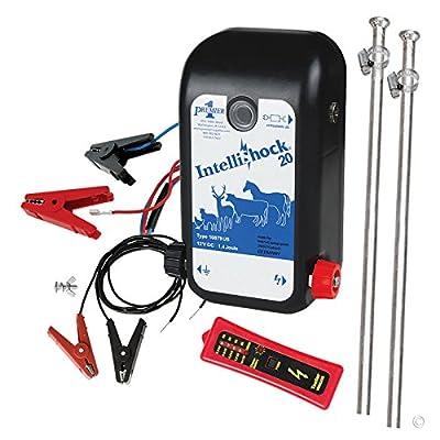 Premier IntelliShock 20 (Battery) Fence Energizer Kit with 2.0 Joule Energizer