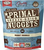 Primal Freeze-Dried Nuggets Rabbit Formula for Cats
