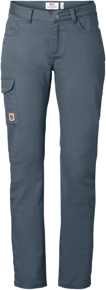 FJALLRAVEN Women's Greenland Stretch Trousers W Trousers Dusk