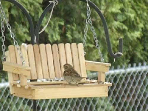 Amazon.com: Mother's Day Poplar Porch Swing Bird Feeder