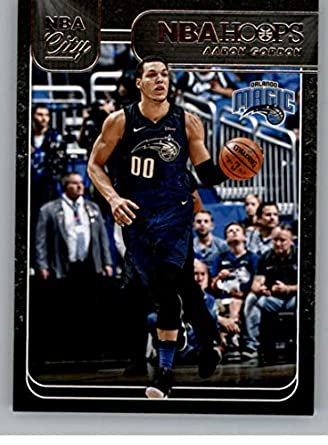 best website 78142 29417 Amazon.com: 2018-19 Panini Hoops NBA City #25 Aaron Gordon ...