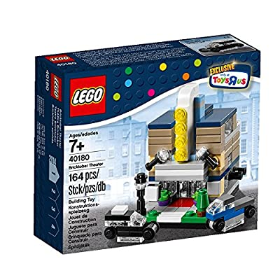 Lego Exclusive 2014 Bricktober Set of Four - Theater (40180), Pizza Place (40181), Fire Station (40182), Town Hall (40183): Toys & Games