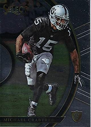 Amazon.com  2017 SELECT  78 MICHAEL CRABTREE CONCOURSE RAIDERS FOOTBALL   Collectibles   Fine Art 632c33e65
