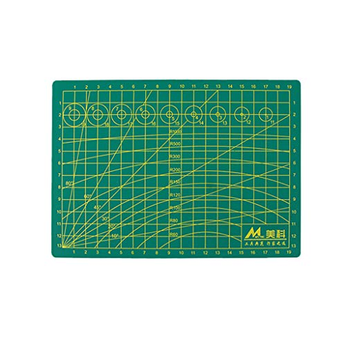 MAMaiuh Cutting Mat Model Design Engraving Board Plate Single Sided Scale Ruler for Sewing, Quilting, Arts & Crafts(Size:A3 A4 A5) (A5)