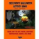 Children's Halloween Activity Book: Pre-K through 2nd grade