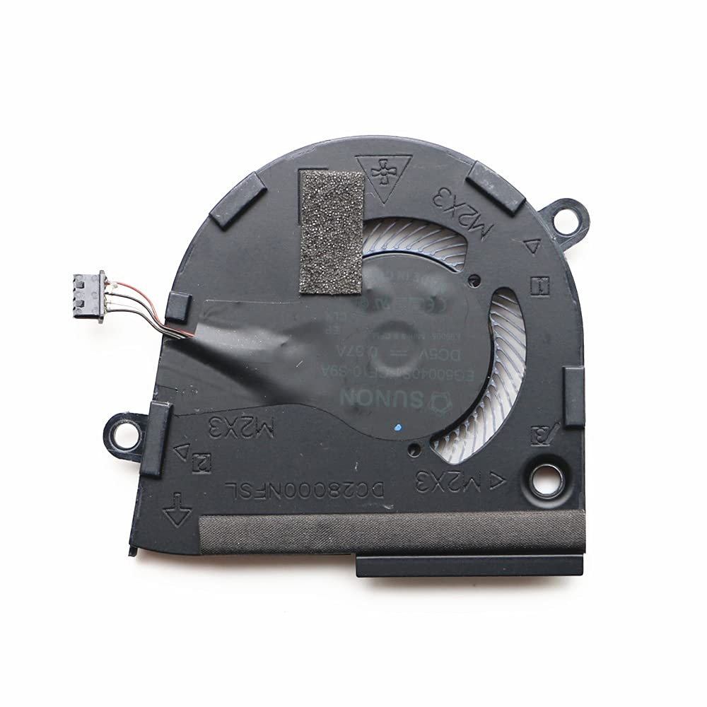 Replacement CPU Cooling Fan Compatible with Dell Latitude 7400 Laptop P/N: 0HCYN0 HCYN0