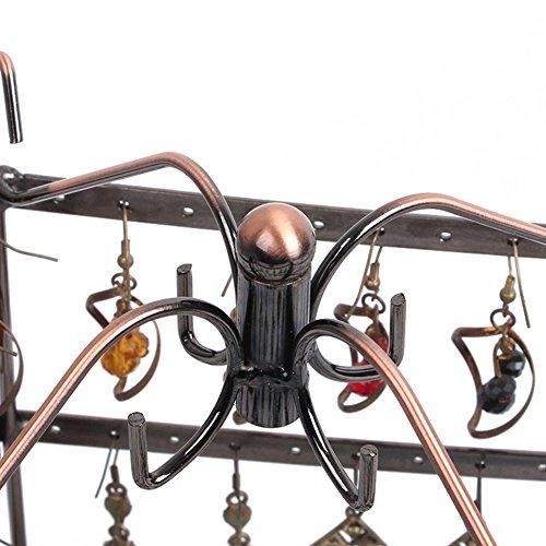 etruke Schmuck Bronze Ständer Metall Ohrring Halskette Halter Display Rack -