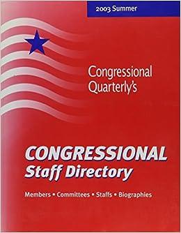 Descargar Libros Para Ebook Gratis Congressional Staff Directory: Members, Committees, Staffs, Biographies PDF Online