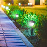 Solar Powered Lights (Set of 6)- LED Outdoor