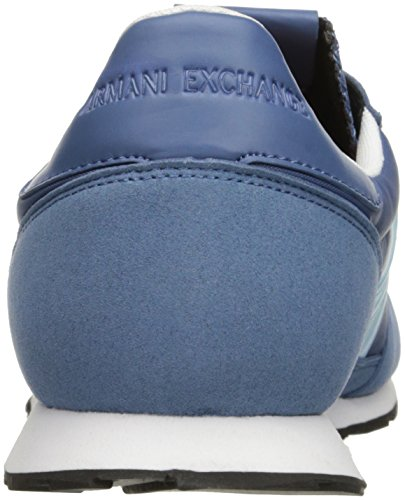 Blue A Armani Sneaker Men X Sneaker Running Exchange Horizon Fashion Retro 4z4rq