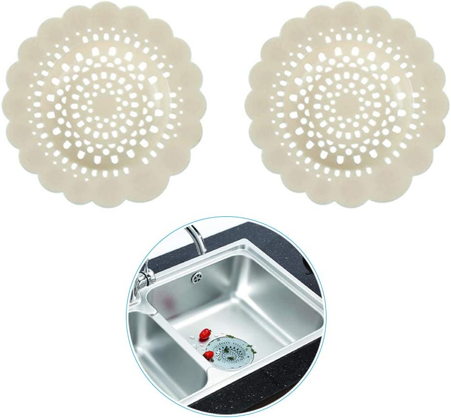 per cucina 6 Pezzi Protezione per scarichi in silicone,filtro per lavello doccia ARTKIVA bagno vasca da bagno cattura capelli