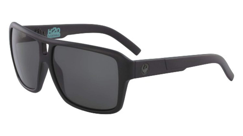 a1c6d15449 Sunglasses DRAGON DR JAM H 2 O NON POLAR MATTE BLACK H2O WITH GREY LENS   Amazon.co.uk  Clothing