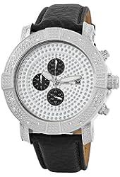 "JBW Men's JB-6115L-A "" Gotham"" Chronograph Pave Dial Diamond Watch"