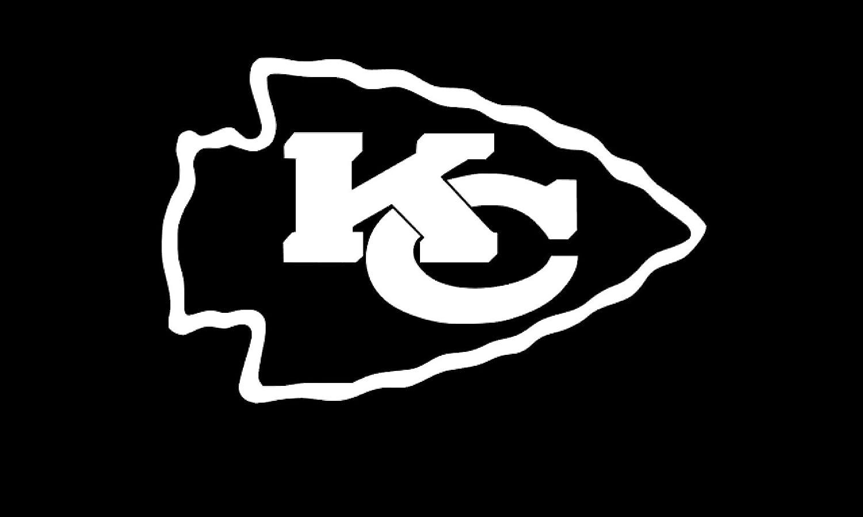 3 x 1.9, Real Red Kansas City Chiefs Vinyl Sticker Decals for Car Bumper Window MacBook pro Laptop iPad iPhone