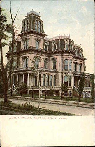 Amelia Palace Salt Lake City, Utah Original Vintage Postcard