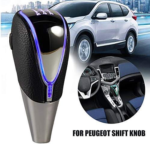 Semoss Sensore Touch 7 Colori Luce LED Pomello Cambio Universale 5 Marce Manuale Trasmissione per Auto Camion SUV Furgoni