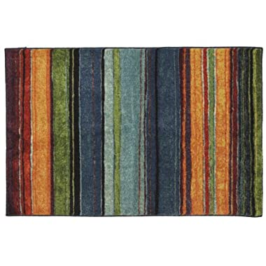 Mohawk Home New Wave Rainbow Printed Rug, 2'6x3'10, Multi