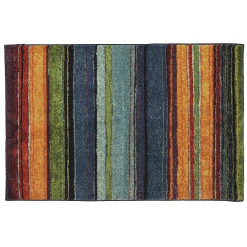 Mohawk Carpet (Mohawk Home New Wave Rainbow Printed Rug, 2'6x3'10, Multi)