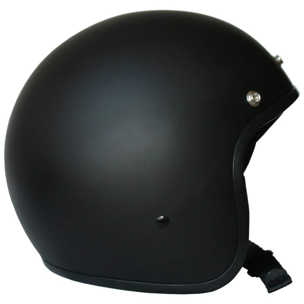 USA L Leopard LEO-604 Scooter Motorcycle Motorbike Open Face Crash Helmet Road Legal 59-60cm