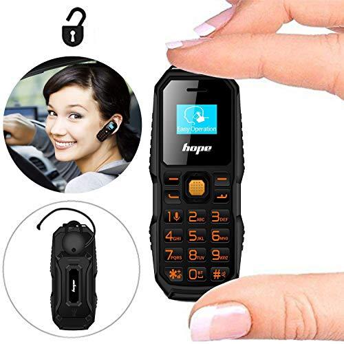 (Mini Mobile Cell Phone Unlocked Bluetooth Dialer Earhook Handsfree Headset Earphone Earbuds Support Dual SIM Card )