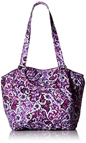 Vera Signature Shoulder Glenna Lilac Paisley Bag Bradley Cotton qx6gqwR